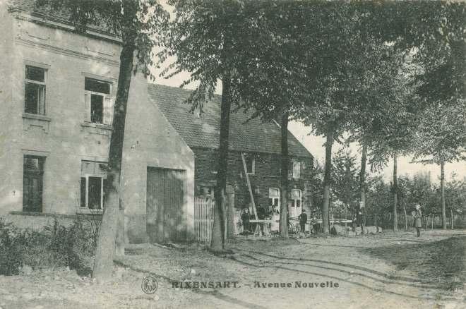 PAD Avenue Nouvelle rue Alphonse Collin 1920 c JCR Martin