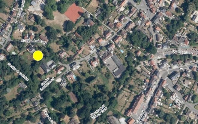 AE11 Rue Lambermont carte